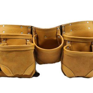 Mens AWP Genearal Construction Leather Tool Apron